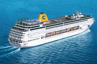 La flotta di costa crociere for Costa pacifica recensioni