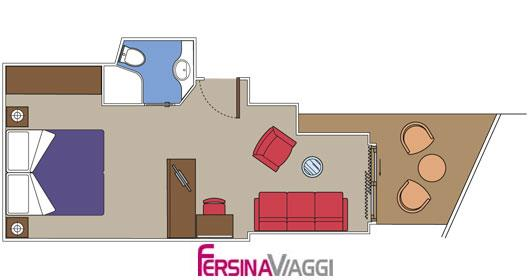 mapp Family Suite con balcone