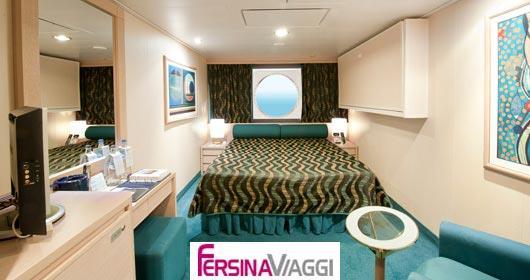 Da Perugia La Cabina Armadio Interattiva : Msc poesia le offerte viaggi ed itinerari relativi alla nave da
