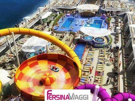 NORWEGIAN EPIC - vista alto