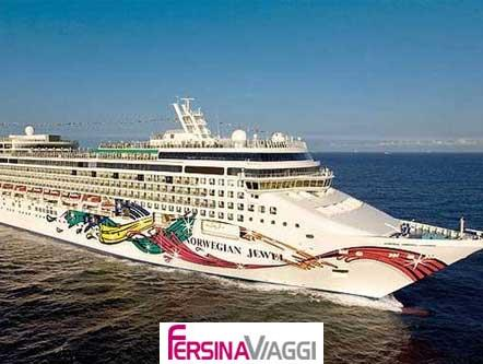 NORWEGIAN JEWEL - esterno