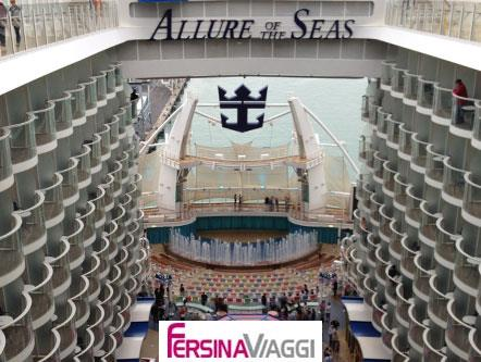 RCCL Allure of the seas - auto