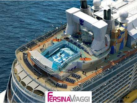 RCCL Anthem of the seas - Piscina