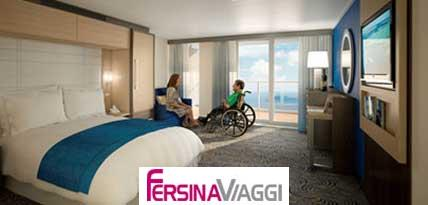 Spa Junior Suite con balcone accessibile ai disabili